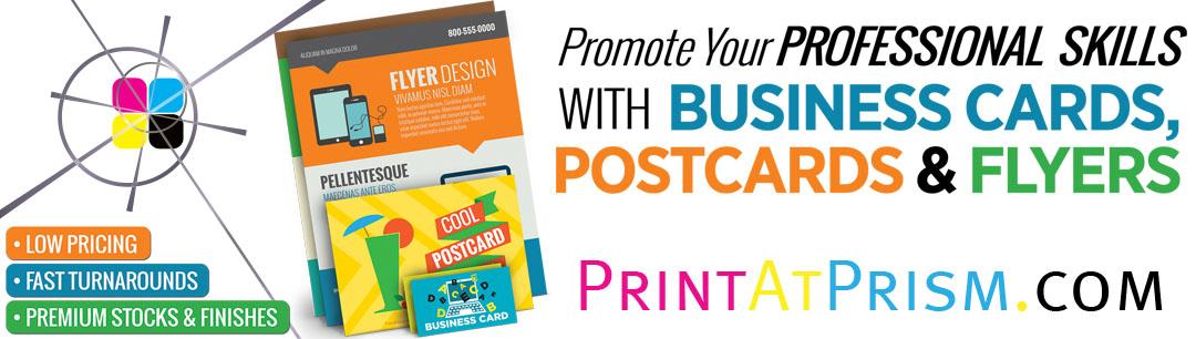 PrintAtPrism Marketing Products